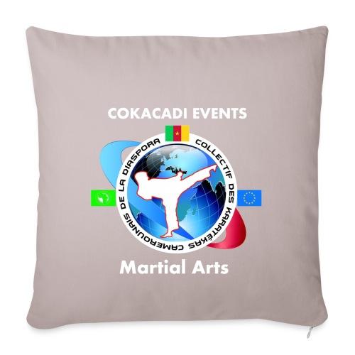 COKACADI EVENT'S design 2 - Housse de coussin décorative 45x 45cm