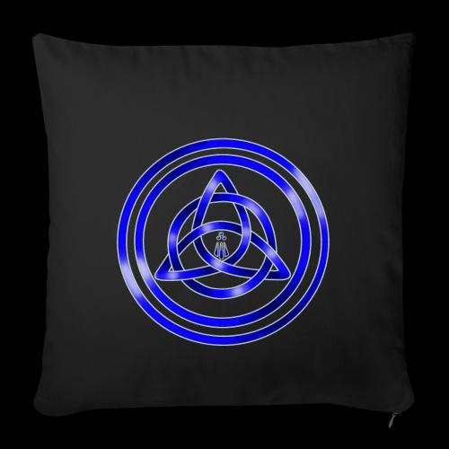 Awen Triqueta - Sofa pillowcase 17,3'' x 17,3'' (45 x 45 cm)