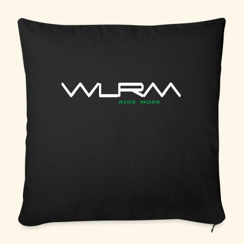WLRM Schriftzug white png - Sofakissenbezug 44 x 44 cm