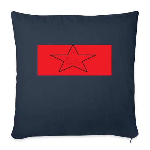 bw enitals - Sofa pillowcase 17,3'' x 17,3'' (45 x 45 cm)