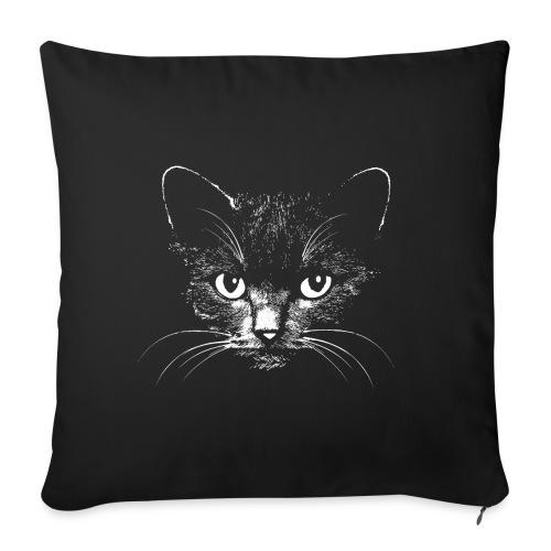Vorschau: black cat - Sofakissenbezug 44 x 44 cm