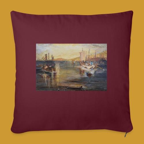 White Fishing - Mark Noble Art - Sofa pillowcase 17,3'' x 17,3'' (45 x 45 cm)