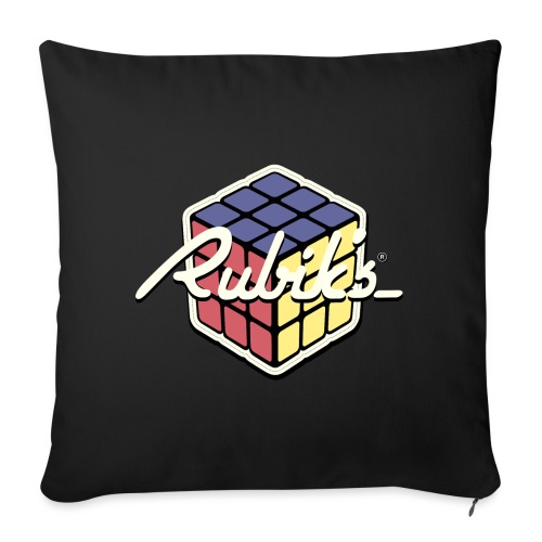 Rubik's Cube Retro Style - Sofa pillowcase 17,3'' x 17,3'' (45 x 45 cm)