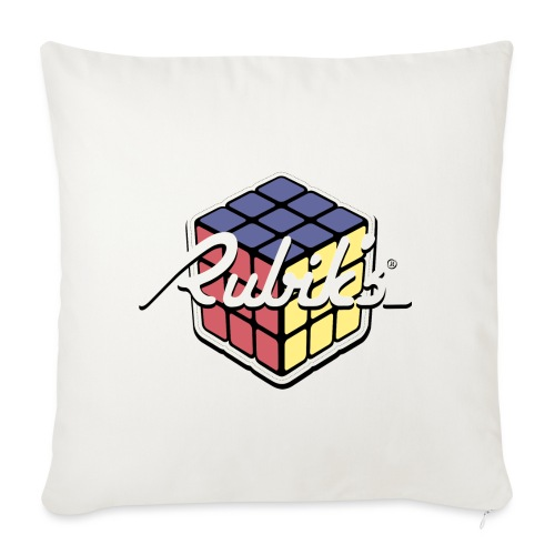 Rubik's Cube Retro Style - Sofa pillowcase 17,3'' x 17,3'' (45 x 45 cm)