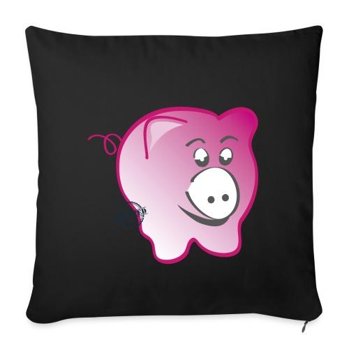 Pig - Symbols of Happiness - Sofa pillowcase 17,3'' x 17,3'' (45 x 45 cm)
