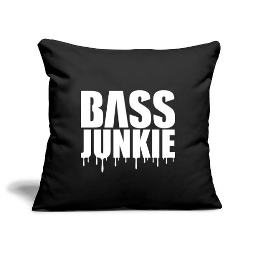 Bassjunkie Bass Junkie Music Musik Festivals DJ - Sofakissenbezug 44 x 44 cm