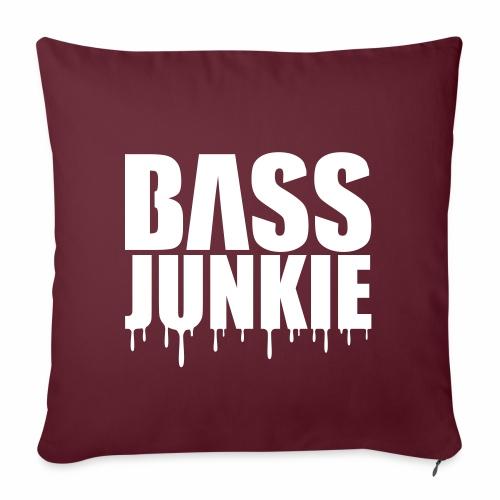 Bassjunkie Bass Music Musik Electro Festivals DJ - Sofakissenbezug 44 x 44 cm