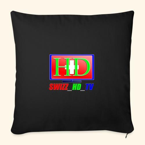 SWIZZ HD TV - Sofakissenbezug 44 x 44 cm