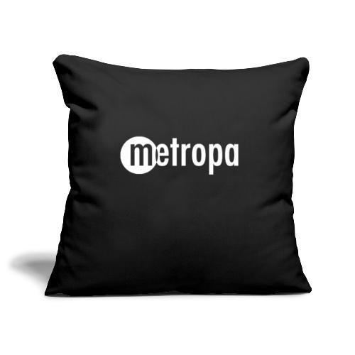 METROPA Logo dark - Sofakissenbezug 44 x 44 cm