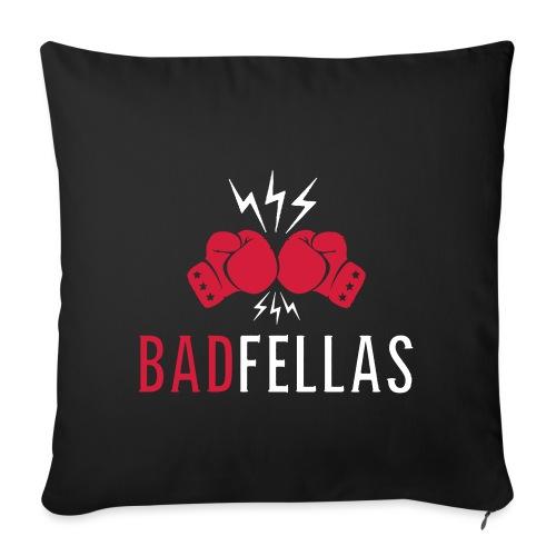 badfellas_boxing_white - Sohvatyynyn päällinen 45 x 45 cm