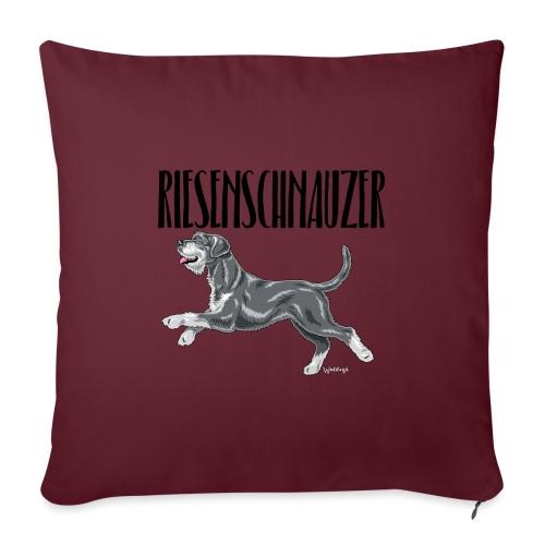 Riesenschnauzer 01 - Sofa pillowcase 17,3'' x 17,3'' (45 x 45 cm)