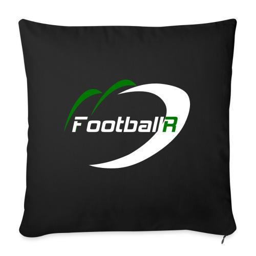 FootballR White - Sofakissenbezug 44 x 44 cm