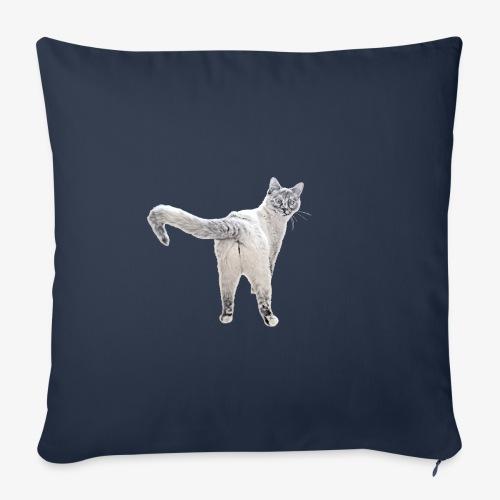 snow1 - Sofa pillowcase 17,3'' x 17,3'' (45 x 45 cm)