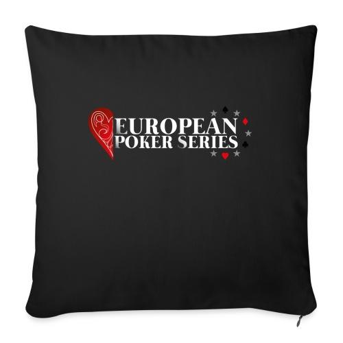 European Poker Series - Housse de coussin décorative 45x 45cm