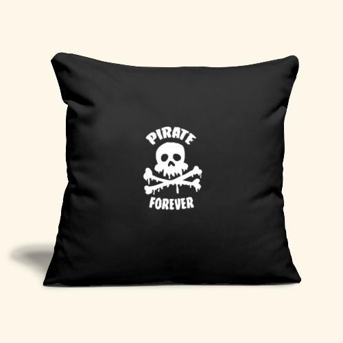 pirate forever - Housse de coussin décorative 45x 45cm