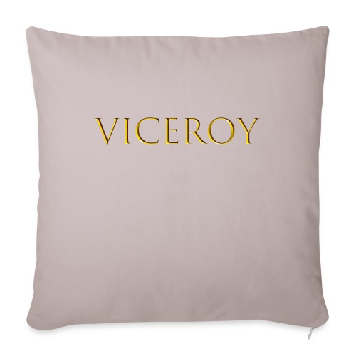 Viceroy Gold - Sofa pillowcase 17,3'' x 17,3'' (45 x 45 cm)