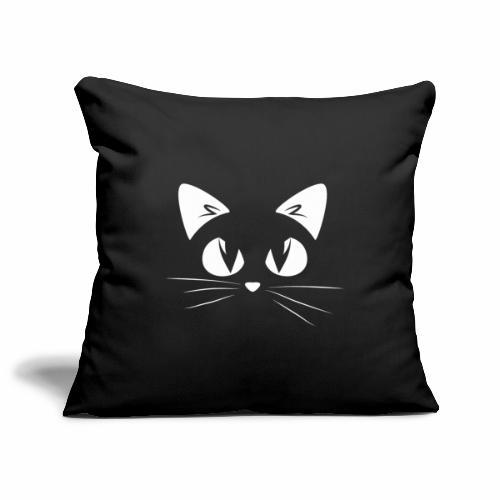 GATTO ARRABBIATO2 - ANGRY CAT2 - Copricuscino per divano, 45 x 45 cm