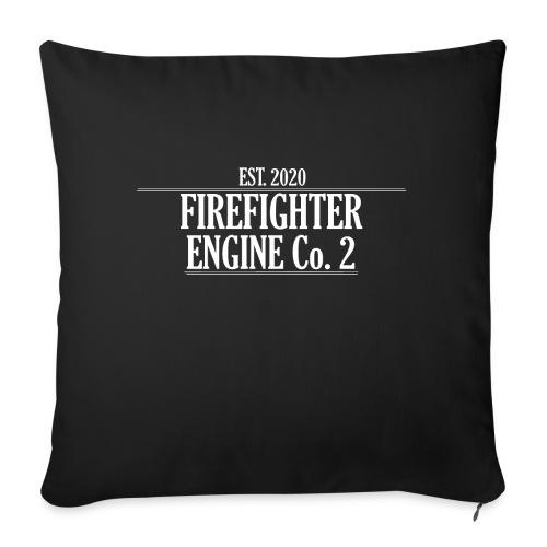 Firefighter ENGINE Co 2 - Pudebetræk 45 x 45 cm