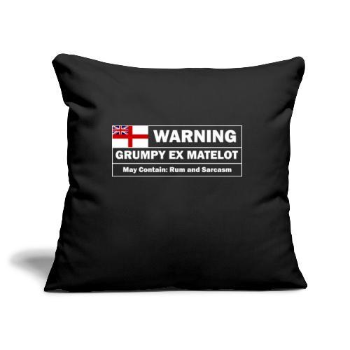 Grumpy Ex-matelot - Sofa pillowcase 17,3'' x 17,3'' (45 x 45 cm)