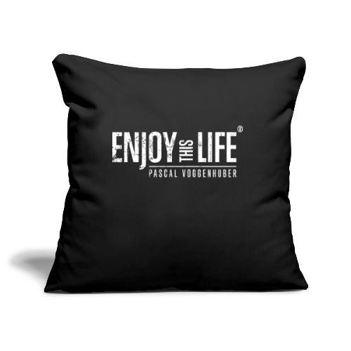 Enjoy this Life® Classic weiss Pascal Voggenhuber - Sofakissenbezug 44 x 44 cm
