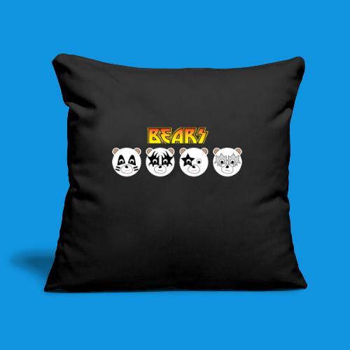 Kiss Bears.png - Sofa pillowcase 17,3'' x 17,3'' (45 x 45 cm)