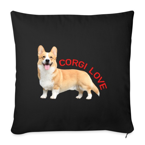 CorgiLove - Sofa pillowcase 17,3'' x 17,3'' (45 x 45 cm)