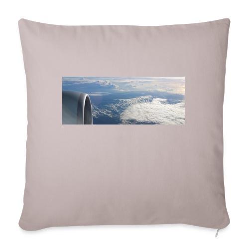 Flugzeug Himmel Wolken Australien - Sofakissenbezug 44 x 44 cm