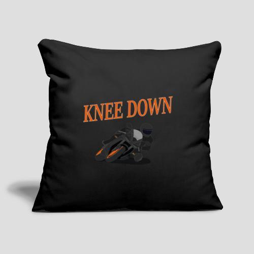 Knee Down - Motorrad | Biker - Sofakissenbezug 44 x 44 cm