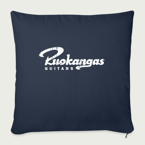 RuokangasGuitars white - Sofa pillowcase 17,3'' x 17,3'' (45 x 45 cm)