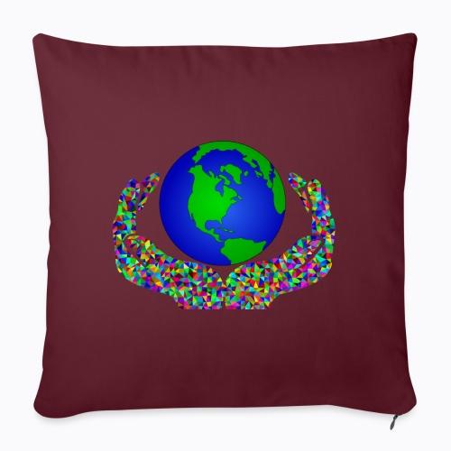 world union - Sofa pillowcase 17,3'' x 17,3'' (45 x 45 cm)