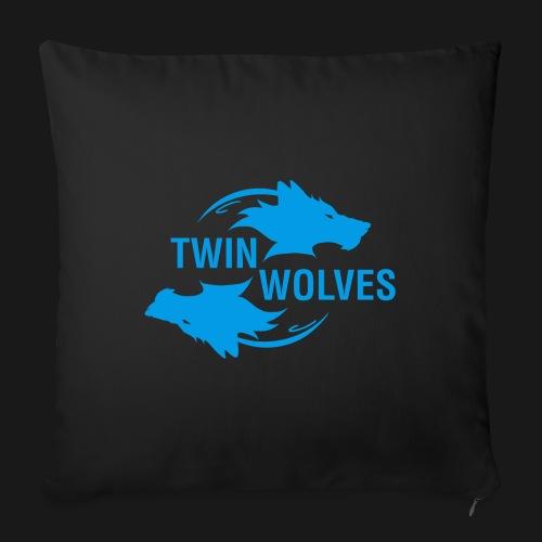 Twin Wolves Studio - Copricuscino per divano, 45 x 45 cm