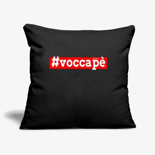 Voccapè - Copricuscino per divano, 45 x 45 cm