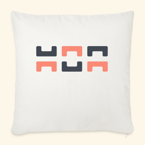 Bezier Elephant, by Hoa - Sofa pillowcase 17,3'' x 17,3'' (45 x 45 cm)