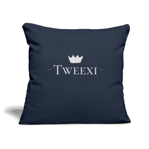 Tweexi logo - Soffkuddsöverdrag, 45 x 45 cm