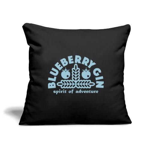 Blueberry Gin - Sofa pillowcase 17,3'' x 17,3'' (45 x 45 cm)