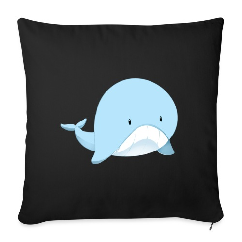 Whale - Copricuscino per divano, 45 x 45 cm
