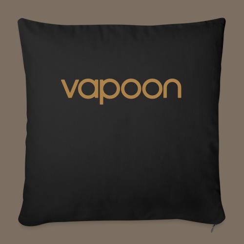 Vapoon Logo simpel 01 - Sofakissenbezug 44 x 44 cm