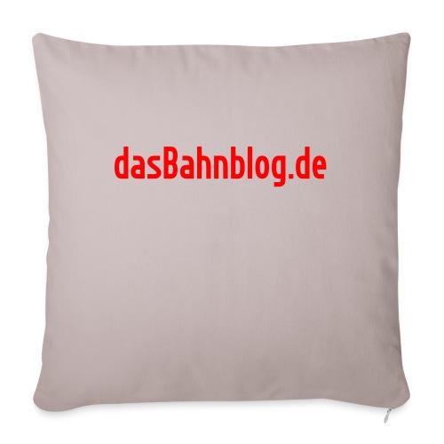 dasBahnblog de - Sofakissenbezug 44 x 44 cm