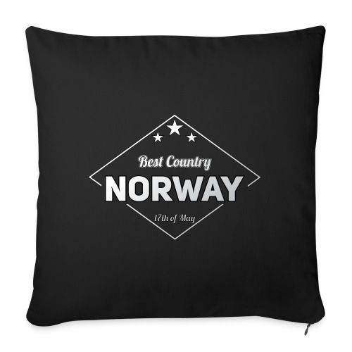 NORWAY - Sofa pillowcase 17,3'' x 17,3'' (45 x 45 cm)