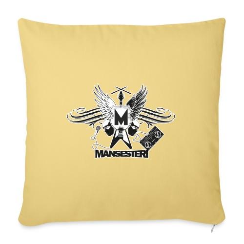Mansesteri logo - Sohvatyynyn päällinen 45 x 45 cm