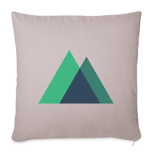 Mountain Logo - Sofa pillowcase 17,3'' x 17,3'' (45 x 45 cm)