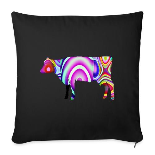 La vache - Housse de coussin décorative 45x 45cm