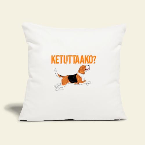 Ketuttaako Beagle - Sohvatyynyn päällinen 45 x 45 cm