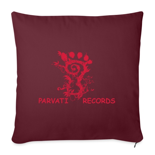 Parvati Records FootMoss logo - Sofa pillowcase 17,3'' x 17,3'' (45 x 45 cm)
