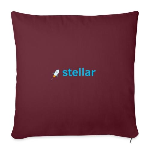 Cryptocurrency - Stellar - Sofakissenbezug 44 x 44 cm