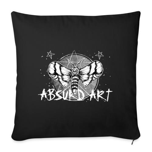 Lovesick Motte, von Absurd ART - Sofakissenbezug 44 x 44 cm