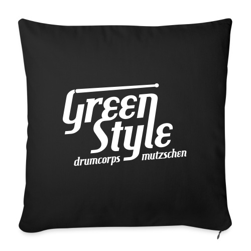 GreenStyle DrumCorps V wh - Sofakissenbezug 44 x 44 cm