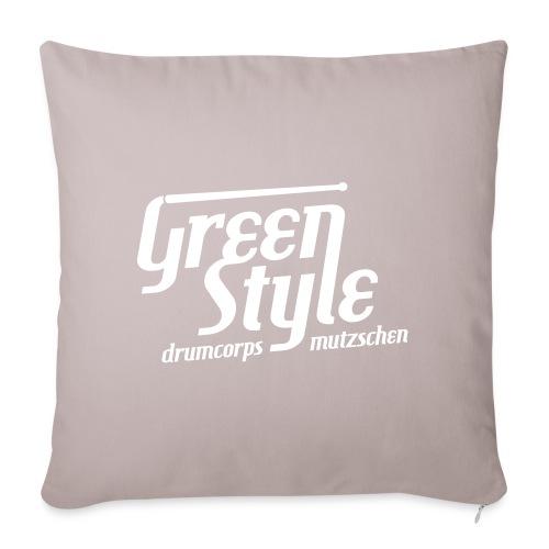 GreenStyle DrumCorps V wh - Sofakissenbezug 44 x 44 cm
