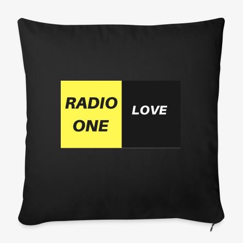 RADIO ONE LOVE - Housse de coussin décorative 45x 45cm