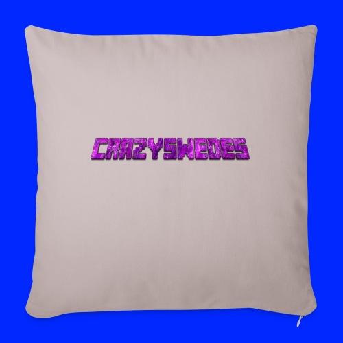 CrazySwedes PurpleThunder - Soffkuddsöverdrag, 45 x 45 cm